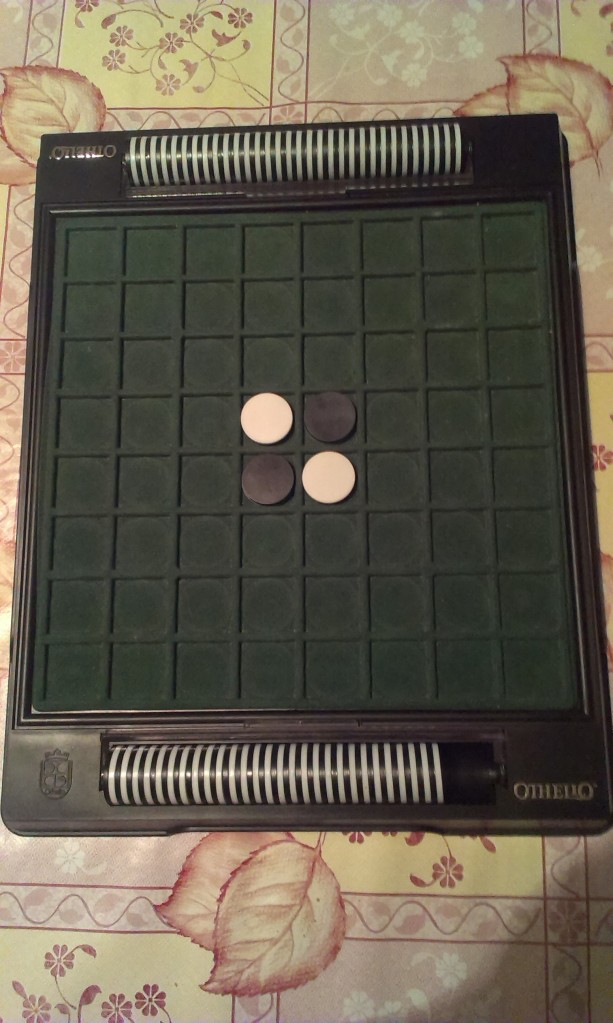Othello starting position