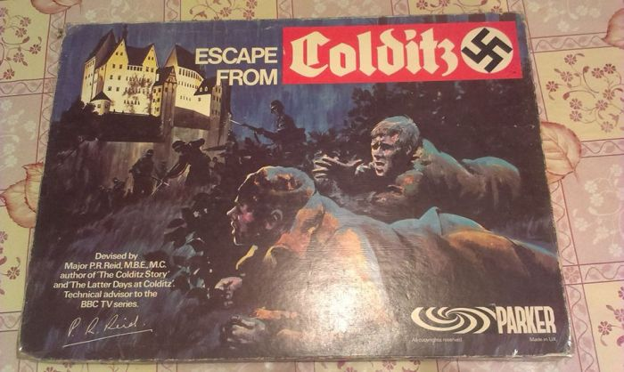 Escape from Colditz box