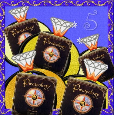 Five Gold Pirateologys