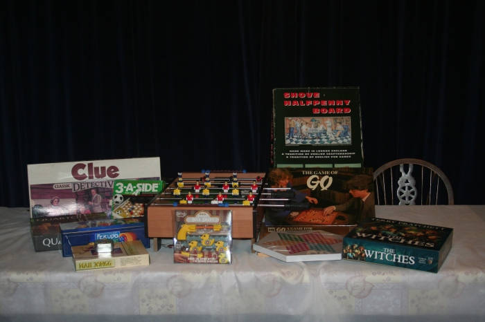 All the games we got for Christmas!