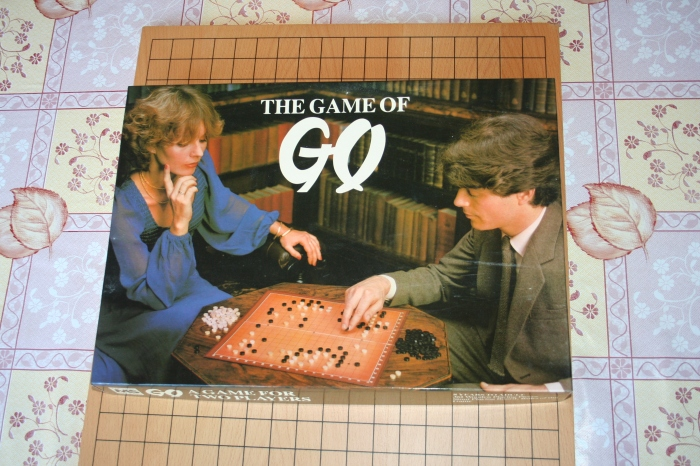 My copy of Go, the box is very 80's...