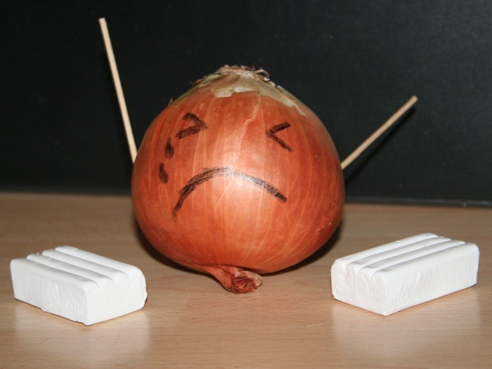 Poor Crippled Mr Onion...
