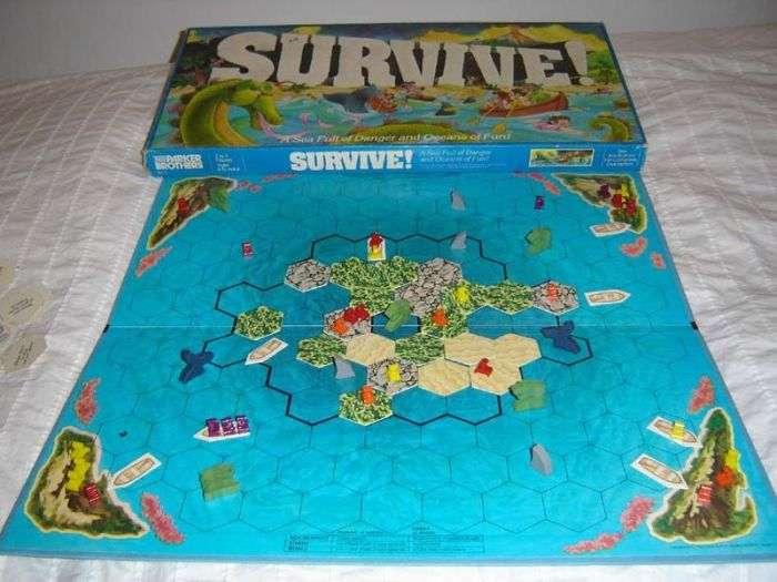Original Survive! Picture lovingly borrowed from Wikipedia.