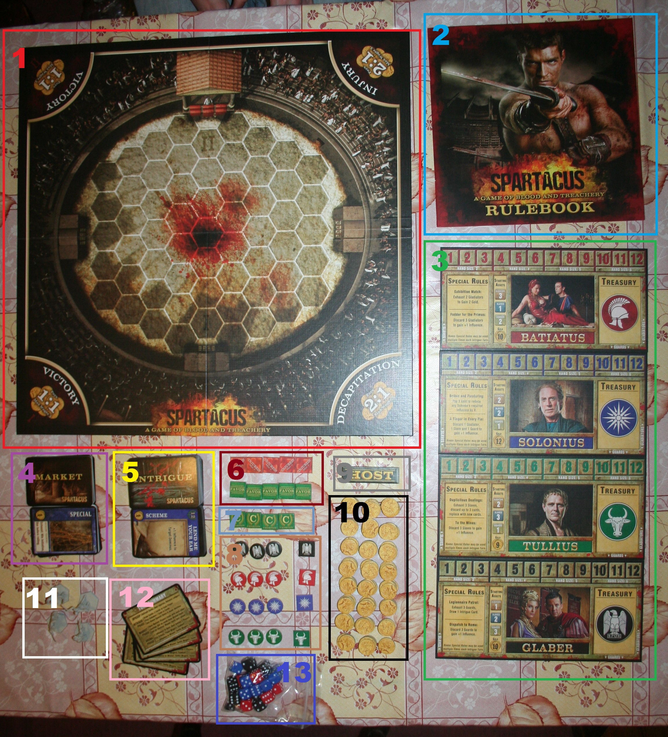 Spartacus Game