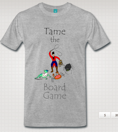 How the T-Shirt design program said it would look like.