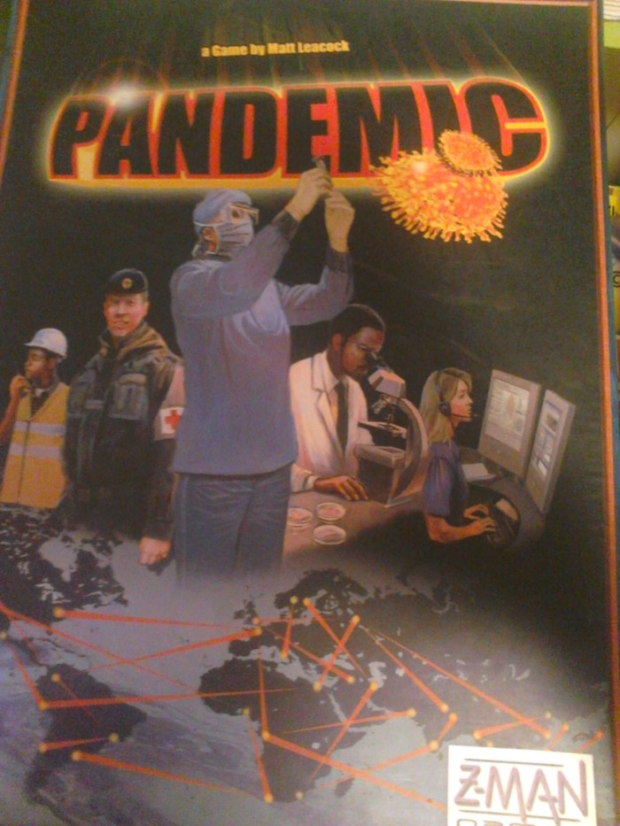 PANDEMIC! It's a race to save humanity